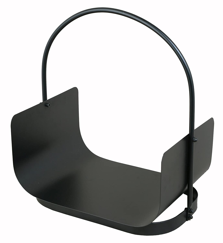 Dario Tools CMB205140 - Cesta portalegna a forma di U, colore: Nero