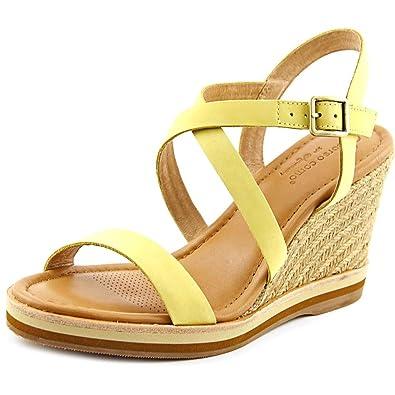 a9875a35f6d Corso Como Women s Gladis Light Yellow Nubuck Wedge  Amazon.co.uk ...
