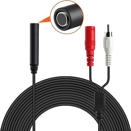Dericam Mikrofon Hochempfindliches Für Cctv Ip Kamera Elektronik