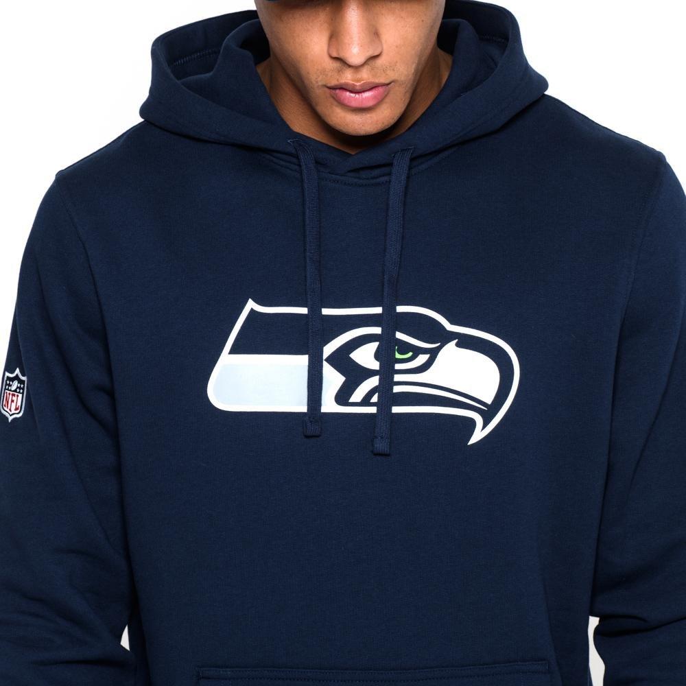Linie Seattle Seahawks New Era Ne92160Fa14 Team Logo Po Seasea Osb Herren Kapuzenpullover