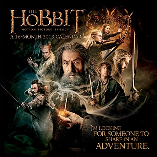 The Hobbit 2018 Wall Calendar