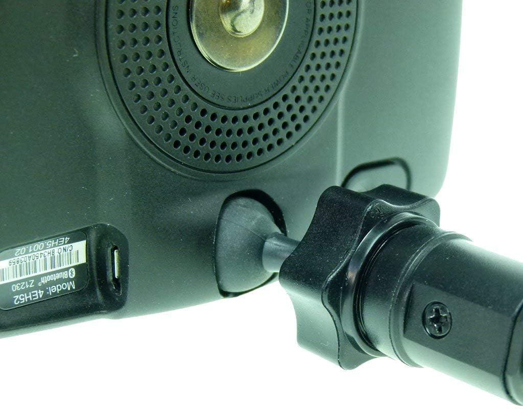 BuyBits rigide avec ventouse Pare-brise pour GPS TomTom Start 20 25