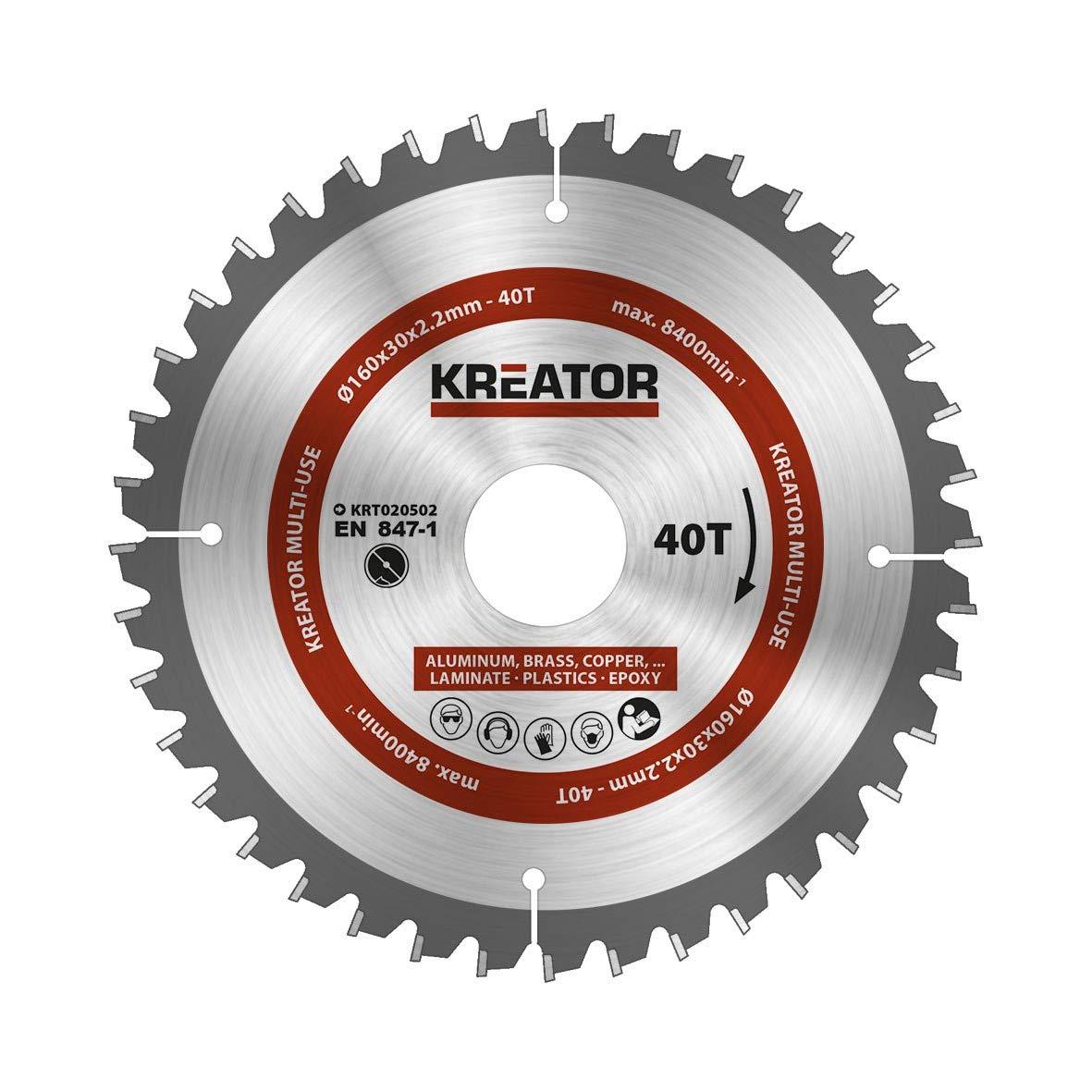 krt020502/multi-usages pour scie circulaire /Ø160/mm 40/dents