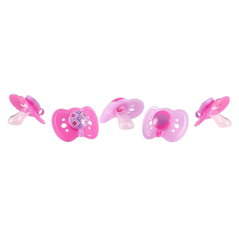 Amazon.com : La pastilla de goma de ortodoncia Chupete, rosa ...