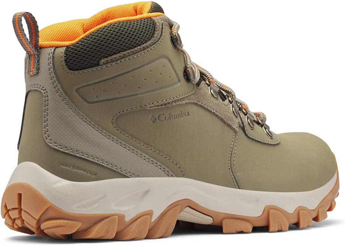 Columbia Mens Newton Ridge Plus Ii Waterproof Leather Suede Hiking Boot Hiking Boots