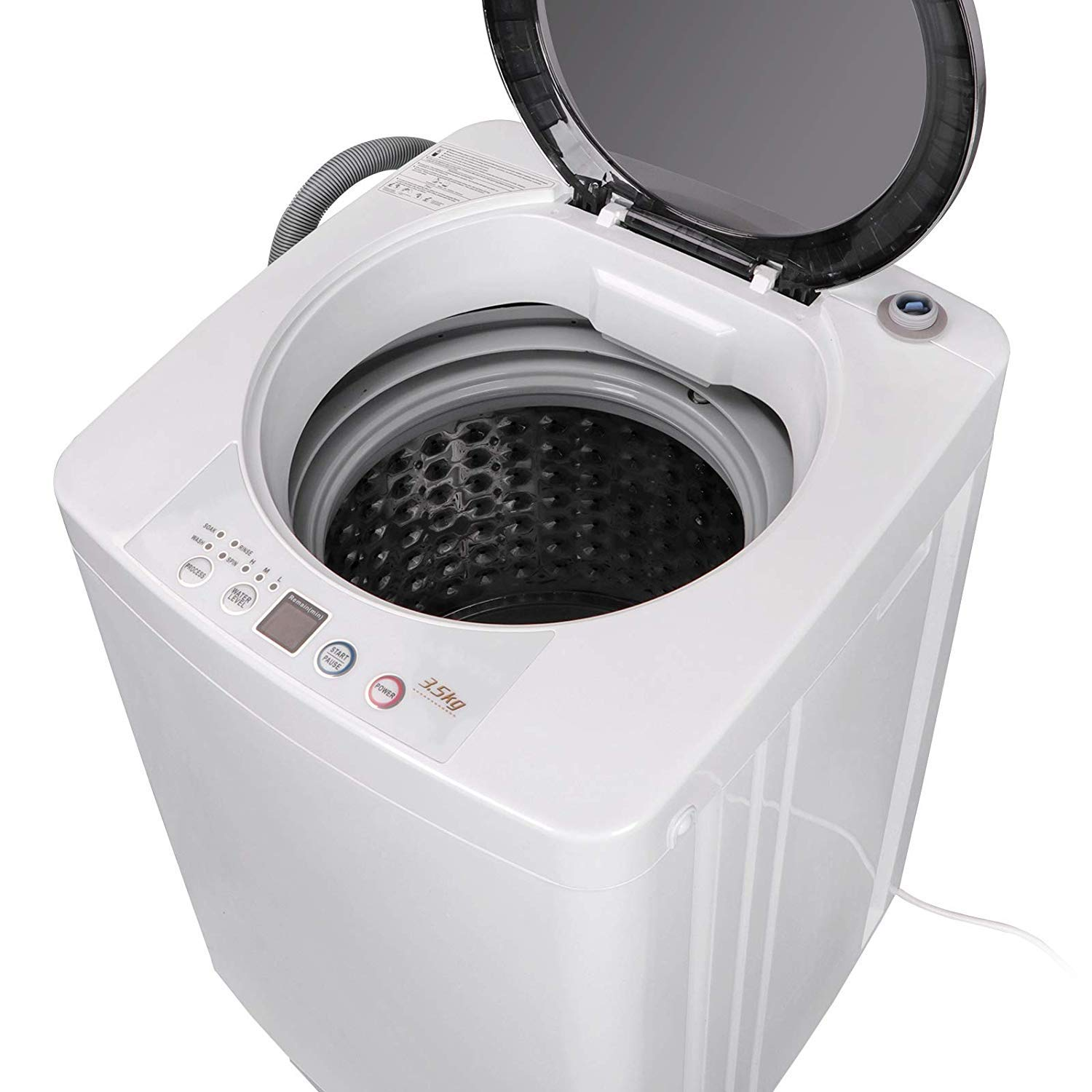 JupiterForce Portable Washer Machine Full-Automatic Rotary Dewater Drying Laundry Washer, 8Lbs by JupiterForce