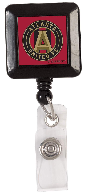 Atlanta United FC Badge Reel Id Holder with Steel Belt Clip