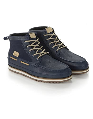 233a8859080 Lacoste Men's Sauville Mid 8 Ankle Boots - Navy: Amazon.co.uk: Shoes ...