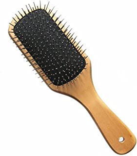 GUO Massage en bois festonné le coussin airbag cuir chevelu peigne fil soins de santé peigner les cheveux salon dédié