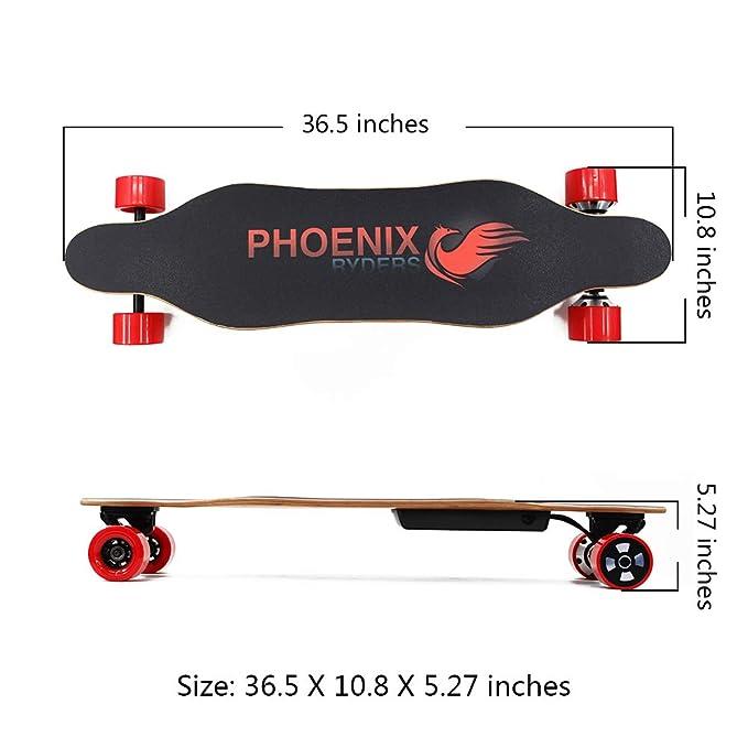 Amazon.com: Alouette Phoenix Ryders - Monopatín eléctrico ...