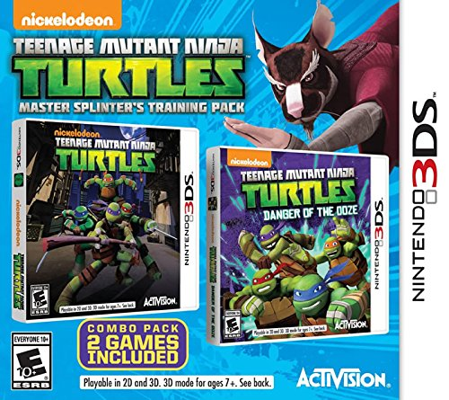 - Teenage Mutant Ninja Turtles Master Splinter's Training Pack - Nintendo 3DS