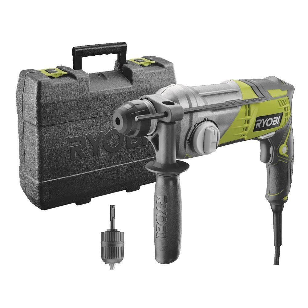 Ryobi 4892210135308 Marteau perforateur SDS Plus, Multicolore