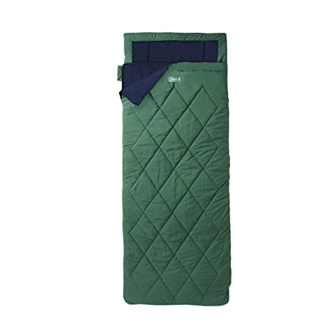 Coleman Vail Single Lite Envelope Saco de dormir grün - marine Talla:tamaño único