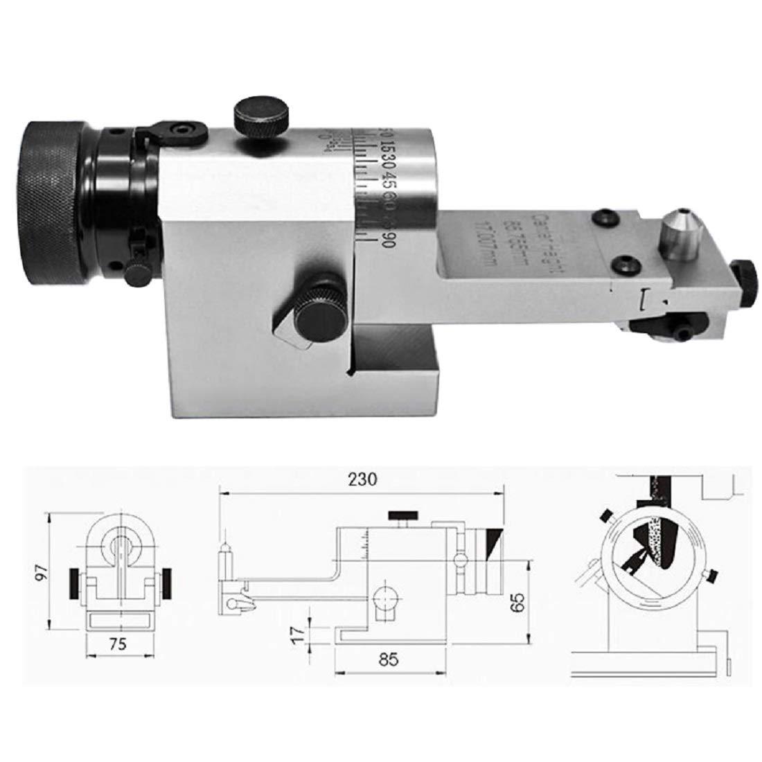 Perspective Grinding Wheel Dresser Visual Optical Radius Angle Dresser Value Line Optical Grinding Wheel Radius Angle Dresser by tinsay (Image #3)