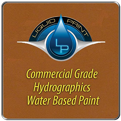 Rosewood Hydrographics Paint - 1 Quart - Water Based - Liquid Print Hydrographics Paint Supplies by Liquid Print