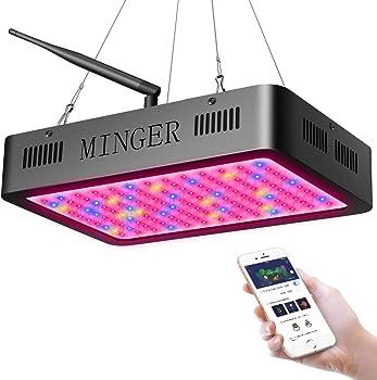MINGER 5W LEDs 120-Pcs. LED Plant Grow Light 600W