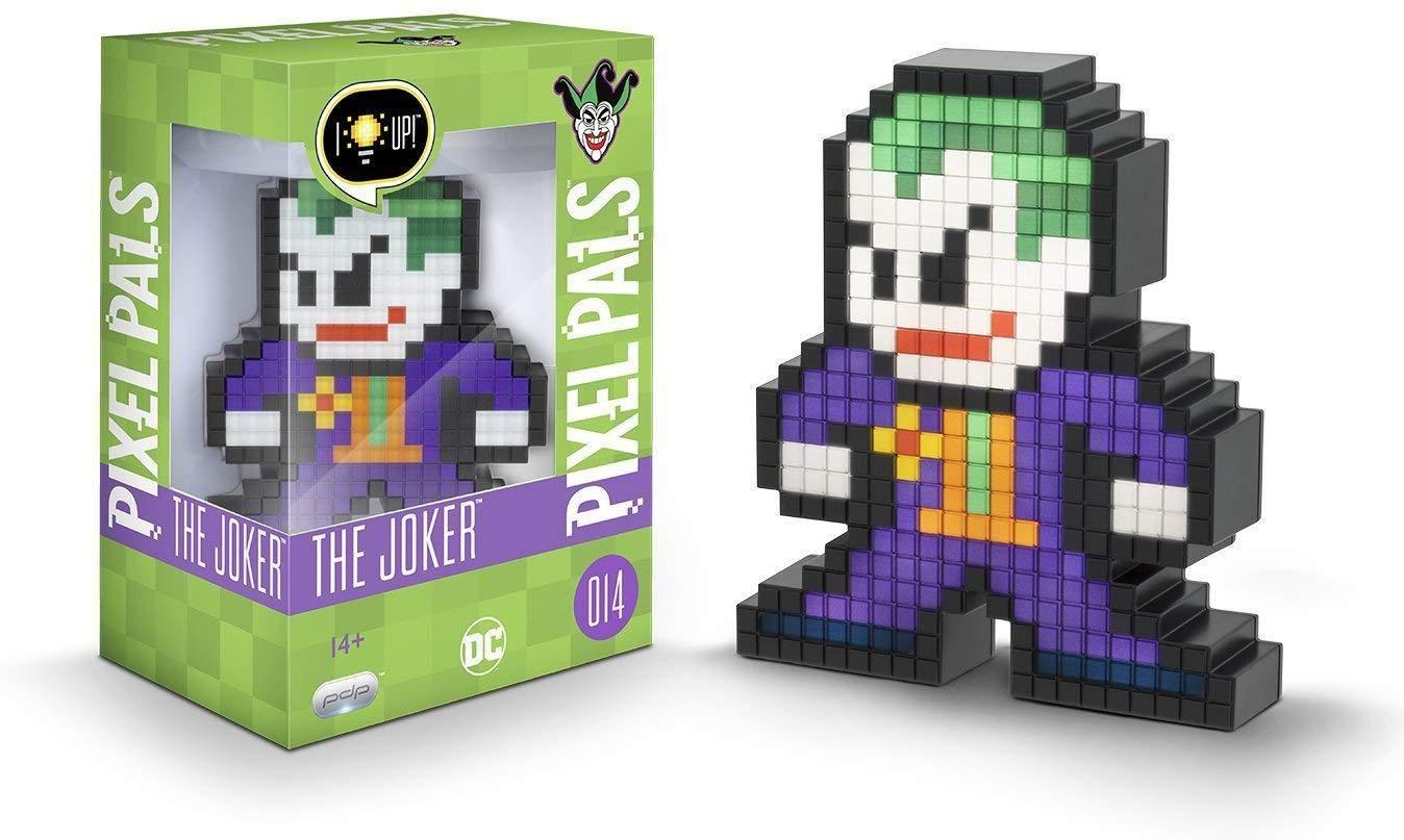 PDP Pixel Pals DC Comics The Joker Collectible Lighted Figure, 878-029-NA-JOKER