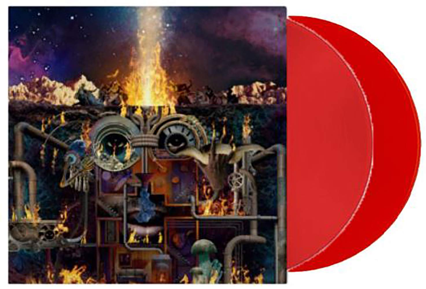 Flamagra - Exclusive Limited Edition Red 2XLP Vinyl [Condition-VG+NM] by Warp Records