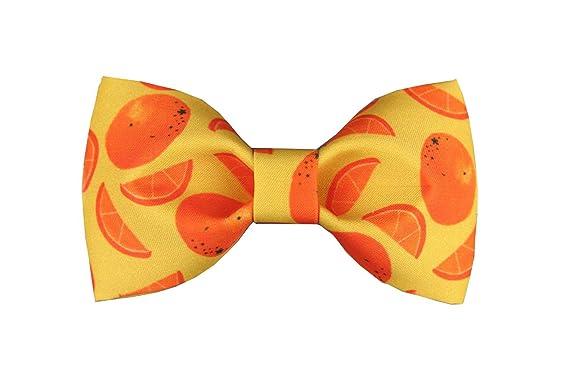 Dise?o De Corbata Orange Estampados Textiles De Poli¨¦ster ...