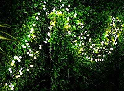 Decorative Lights,Tofu Fairy String Lights 400 LED 10 Ft for Outdoor,Indoor,Bedroom,Garden,Patio,Backyard,Christmas,Party,Wedding,Bistro,Cafe,Curtain Decorations