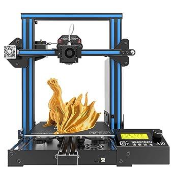 Hiveseen Impresora 3D de aluminio montaje rápido con un volumen de ...