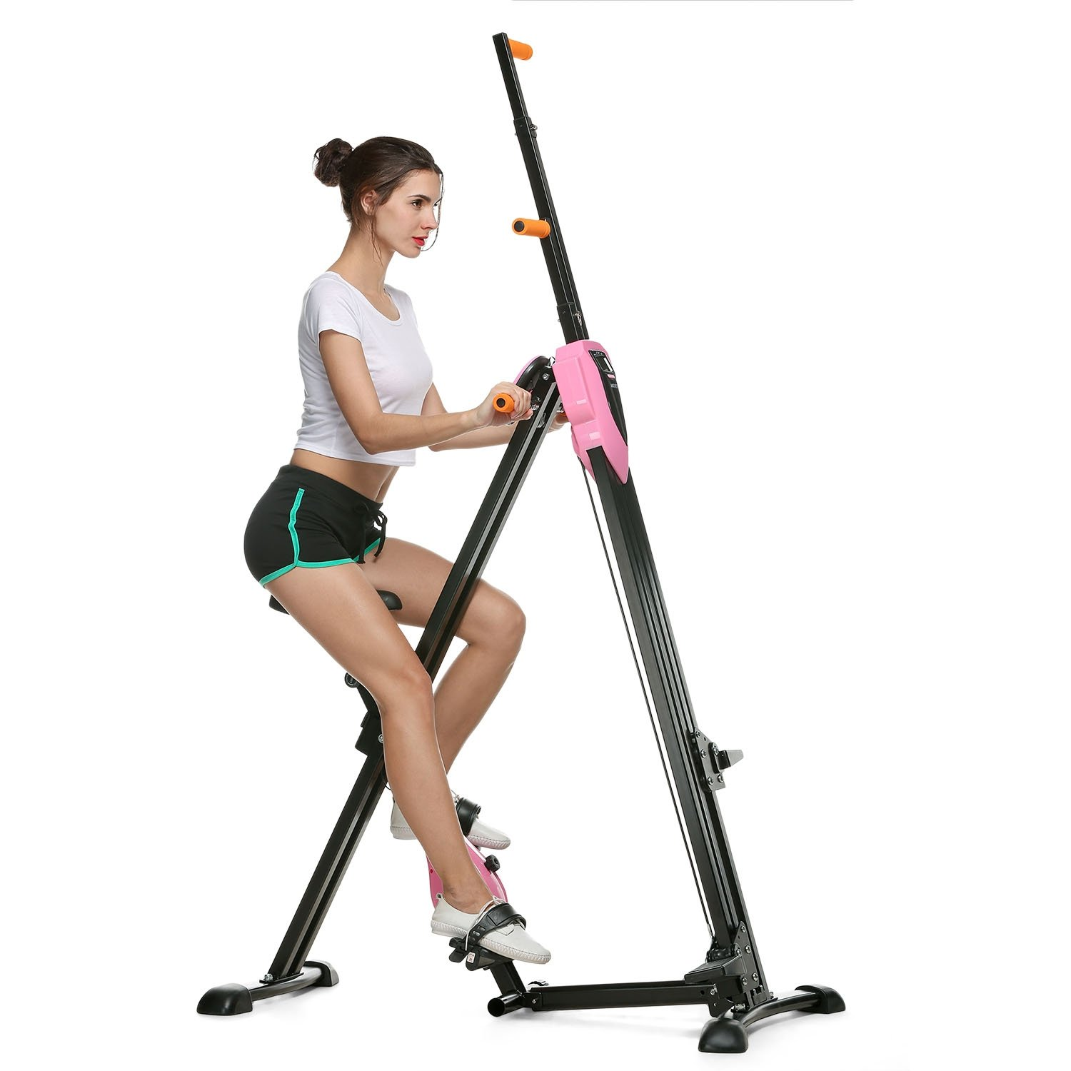 Asatr Vertical Climber Folding Gym Exercise Fitness Machine Stepper Exercise Bike for Home Body Trainer by Asatr (Image #2)