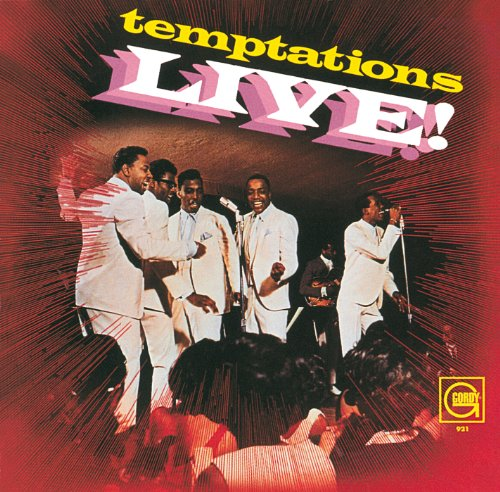 Temptations Live! by CD (Image #1)