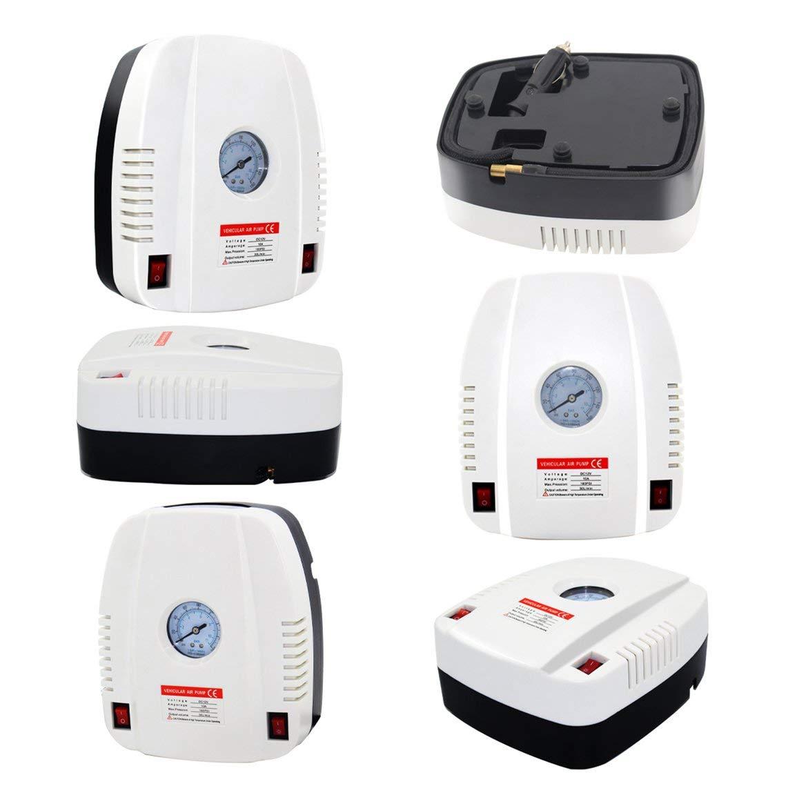 Neumático del auto portable eléctrico del compresor de aire de la bomba del coche eléctrico del compresor de aire de la bomba para emergencias al aire ...