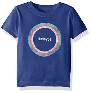 cfbdb41b Hurley Boys' Big Graphic T-Shirt, Game Royal Circle M