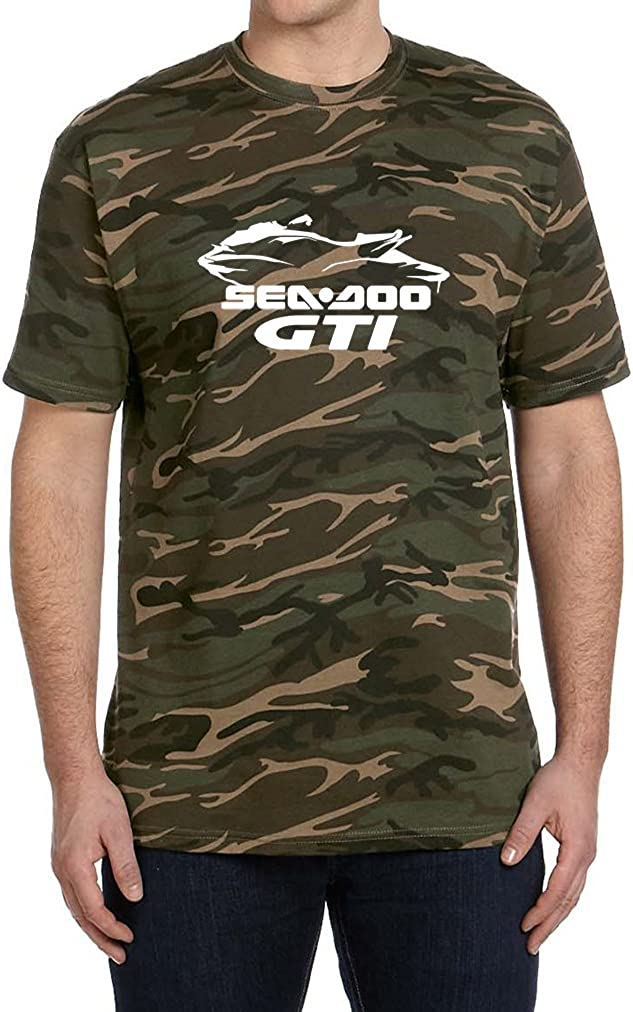 2012-16 Sea Doo GTI Jet Ski PWC Classic Outline Design Tshirt