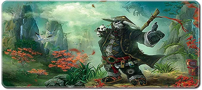 Large Gaming Mouse Mat Xxl World Of Warcraft Mouse Pad Elektronik