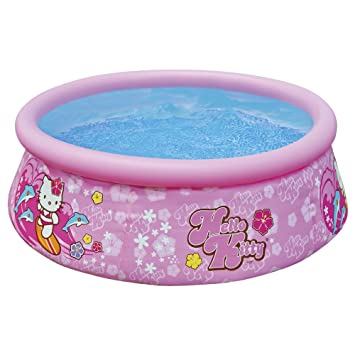 Intex - Piscina hinchable, 183 x 51 cm, diseño hello kitty ...