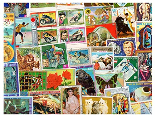 Equatorial Guinea : 300 Different Stamps Collection Mixture Packet Stamps for Collectors
