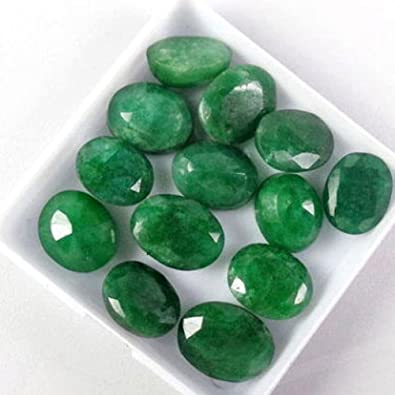 gemstone colombian certified ct loose cut natural emerald