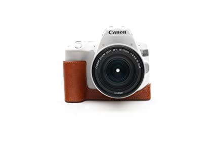Zakao - Funda para cámara Canon EOS 200D Mark II (Piel auténtica ...