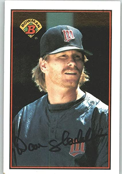 1989 Bowman 163 Danny Gladden Minnesota Twins Baseball