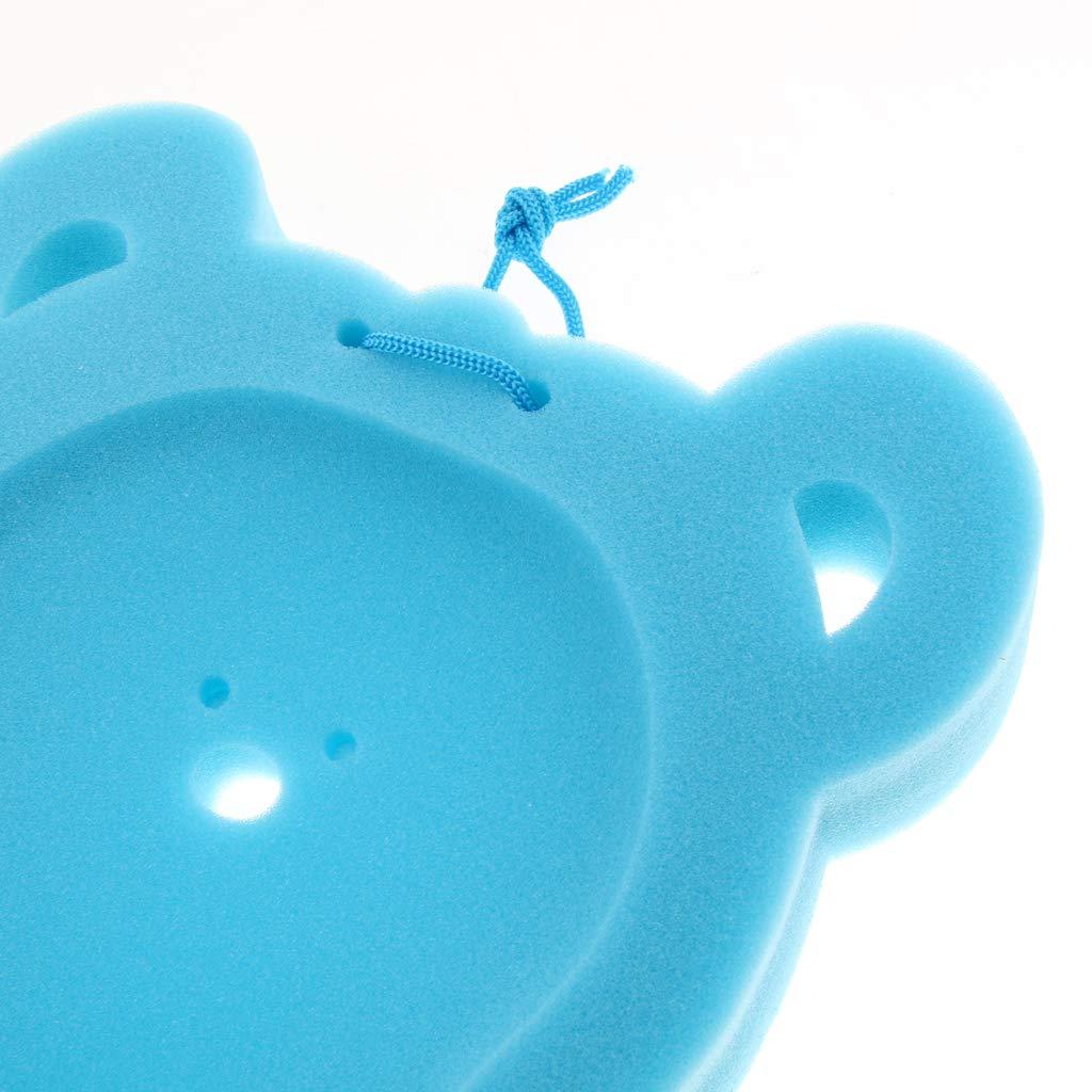 Blau 50 cm B Baosity Schwamm Baby Badematte Rutschfeste Badewanne f/ür Baby Care
