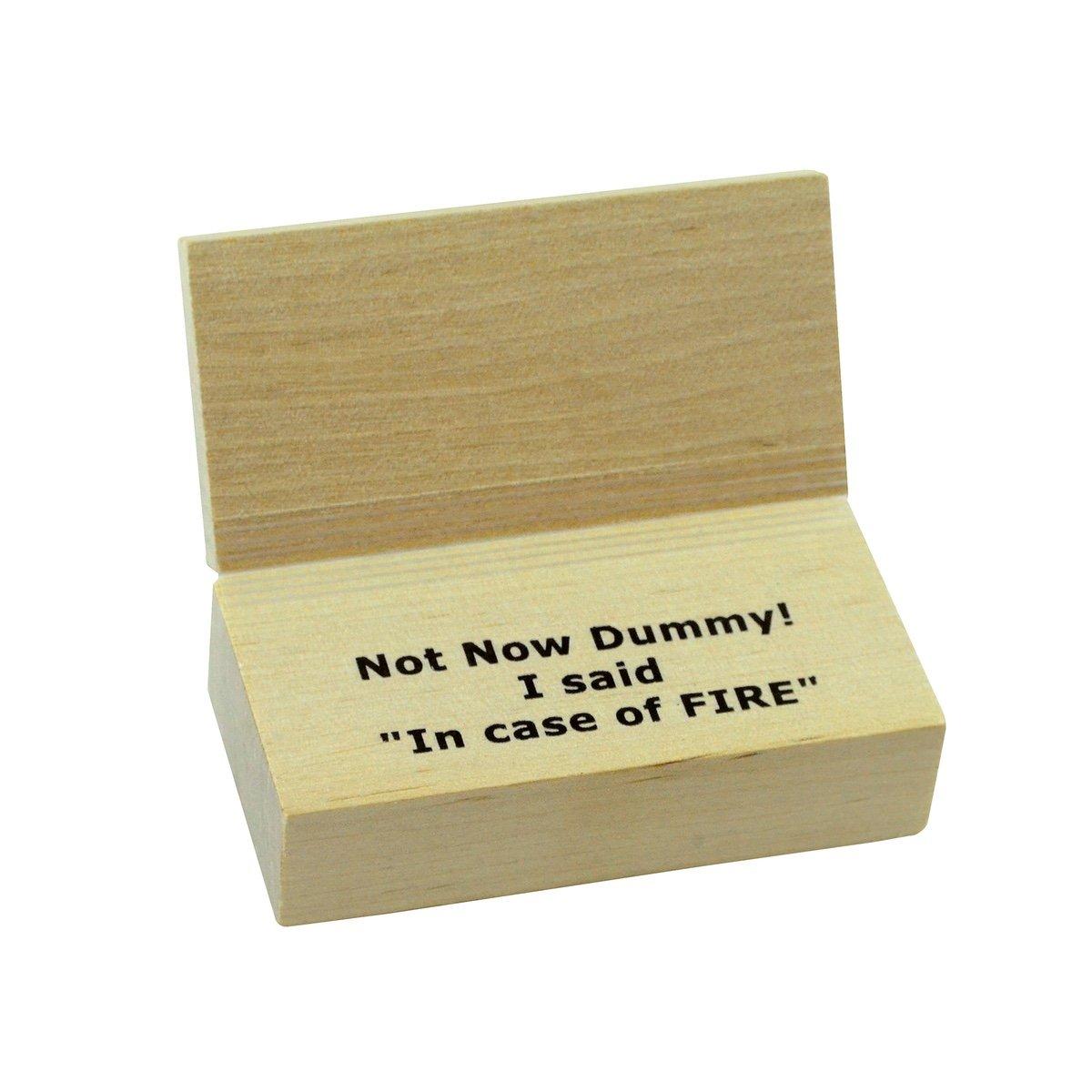 Amazon.com: Sorpresa abierto en caso de incendio Caja de ...
