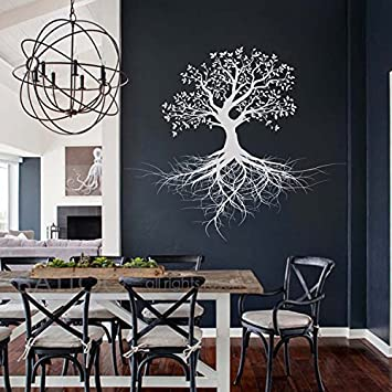 BATTOO Tree of life Wall Decal Sticker for Magical Minds Mystic Collection - Spiritual Vinyl Wall & Amazon.com: BATTOO Tree of life Wall Decal Sticker for Magical Minds ...