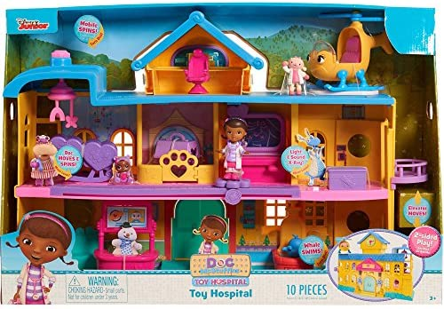 Juego De Hospital De La Doctora Juguetes De Just Play Doc Mcstuffins Talla única Multicolor Toys Games