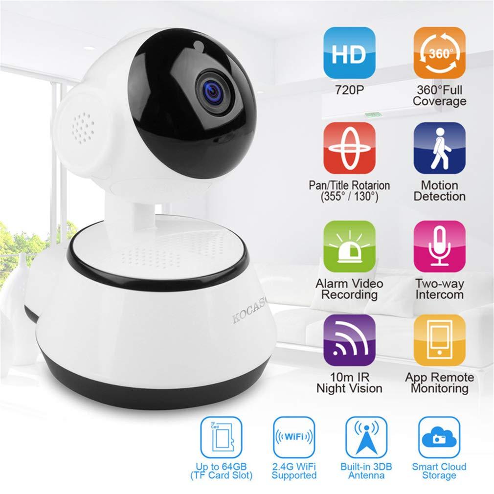 Amazon.com: Home Security - Cámara IP inalámbrica con WiFi ...