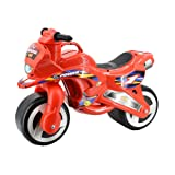 deAO Ride On Toddlers Balance Motorbike – Pedal Free Bike for Children in a Cool Red Design