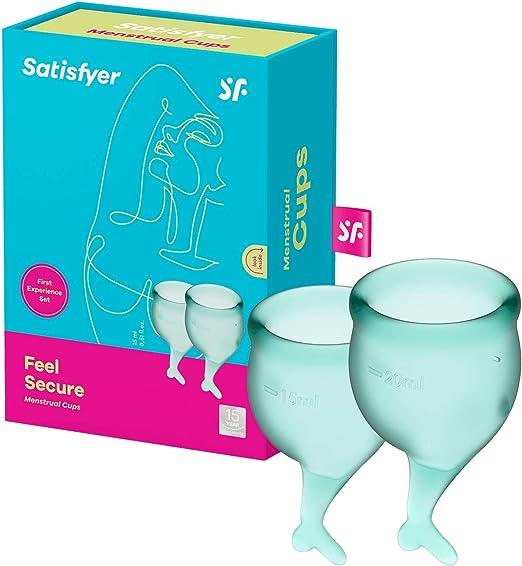 Satisfyer Feel Secure - Menstrual Cup Set, 15 & 20 ml
