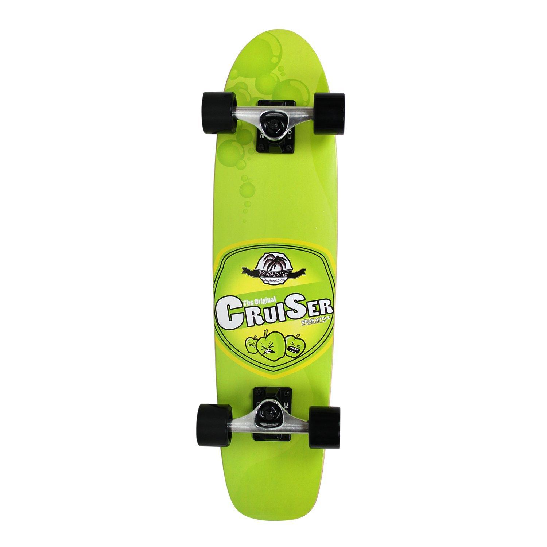 Green Keystone Skate Supply PACR-1 PARADISE Crab Apple Cruiser Complete