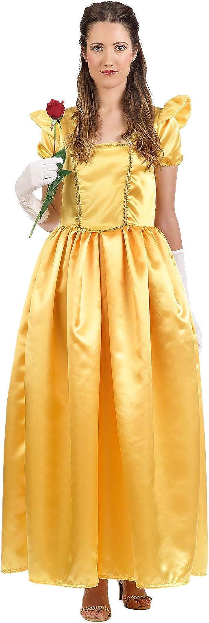 Disfraz de Belle Ladies para Disney La Bella y la Bestia Fans ...