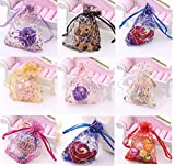 Wuligirl 100 PCS 2.75 by 3.54 inches Mixed Color