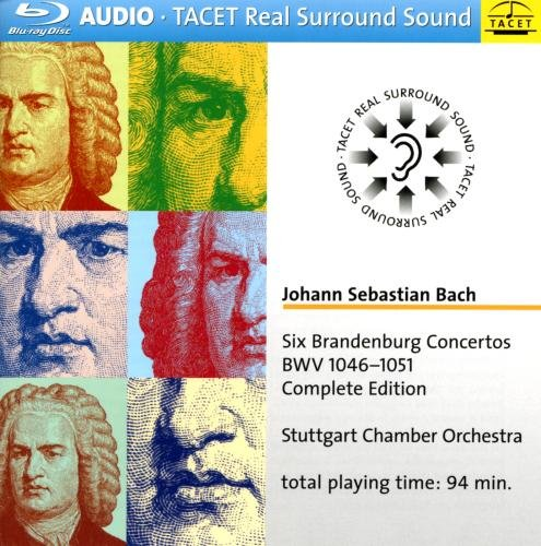Six Brandenburg Cons BWV 1046-1051 Comp Edition (Blu-ray Audio)