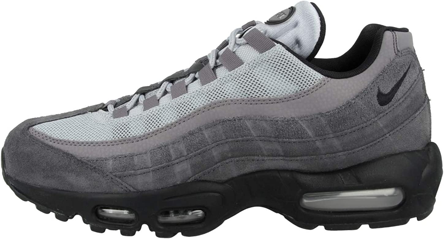 Nike Air MAX 95 Essential, Zapatillas de Running Unisex Adulto, Negro (Anthracite/Black/Wolf Grey/Gunsmoke 008), 41 EU: Amazon.es: Zapatos y complementos