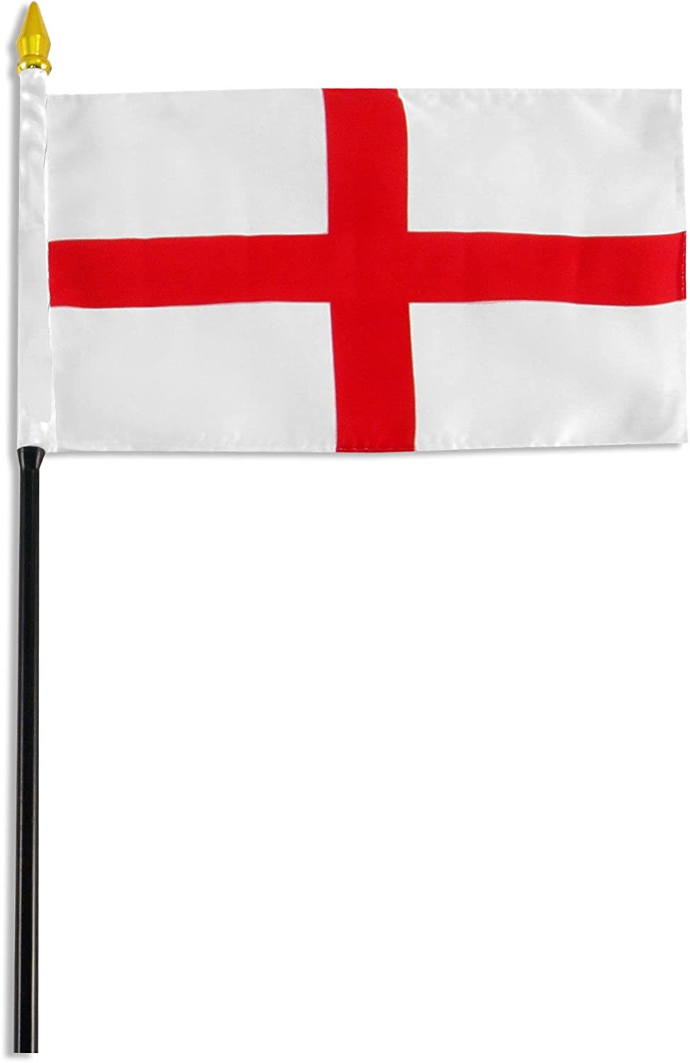 US Flag Store England St. George Cross Flag, 4 by 6-Inch