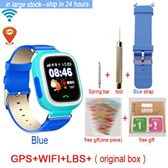 Relojes Inteligentes Q90 GPS Niño Smart Watch Phone Position ...